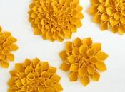 Diy: flores fieltro diy: felt flowers