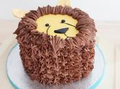 Tarta León Lion Cake