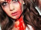 Maquillaje halloween enfermera asesina