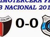 Colón:0 Gimnasia Esgrima Jujuy:0 (Fecha 13°)