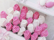 ♥Piruletas rosas jabón para boda Elena