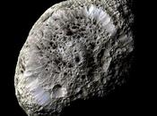 Descarga eléctrica voltios entre sonda Cassini luna Hiperión