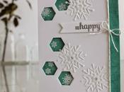 "Christmas card: happy"" Tarjeta navideña: ""Que seas feliz"""