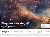 Stephen Hawking estrena página Facebook