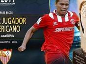 Carlos Bacca, Mejor Jugador Americano Liga BBVA 2013-14