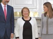 Dña. Letizia, Felipe Varela, Presidenta Chile Michelle Bachelet