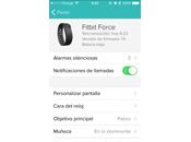 Fitbit actualiza firmware Force, añade Caller