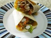 Wrap verduras pollo ajonjoli
