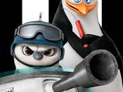 """Carteles español protas """"los pingüinos madagascar"""""""