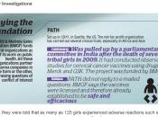 Fundación Bill Gates investigada India prueba fraudulenta vacuna papiloma