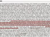 Cobarde brutal agresión colegiado Vigo finalizar C.D. Nieto-E.D. Valmiñor juvenil (Anexo acta)