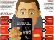 Comprueba eres adicto «smartphone» #Infografía #Tecnología #Smartphone