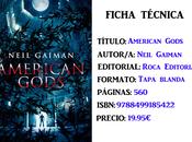 Reseña: American Gods, Neil Gaiman