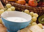 Incorporando yogurt cocina