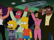 "adelanto crossover Simpson Futurama, ""Simpsorama"""