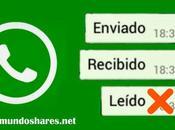 Como evitar visto WhatsApp