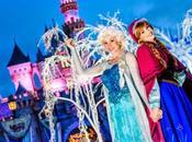 Disneyland, festeja Navidad Anna Elsa