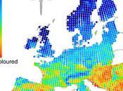 calentamiento global favorece insectos colores claros