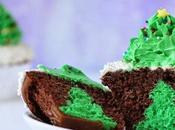 Cupcakes Rellenos Arbol Navidad Queso Crema