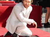 Matthew McConaughey recibe estrella Paseo Fama