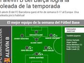 diario Sport error difusión goleadas fútbol base Barça