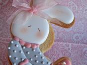 Galletas bebe,en tonos rosas,blanco gris