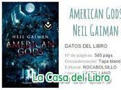 Libro American Gods Neil Gaiman