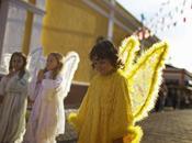 Ángeles amarillo Internacional Niño