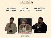 Audio primera jornada ciclo cultural ballet palabras: tres tenores poesía.
