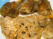 Tortilla guisada alcachofas tortilla flotante