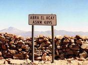 Abra Acay paso montaña considerado Aconcagua ciclistas