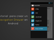 Tutorial para crear Navigation Drawer Android