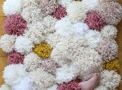 alfombra pompom