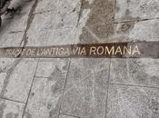 Trazado antigua romana, plaça pedró, barcelona...26-11-2014...!!!
