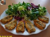 Sardinas rellenas queso cabrales
