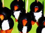 RECETAS. Pintxo pingüino