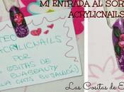 entrada sorteo Acrylicnails Cristina.