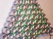 Adornos navideños material reciclado