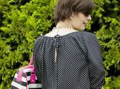 Looks blusa polka dots