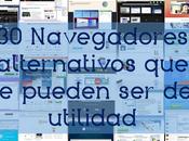 navegadores alternativos pueden utilidad
