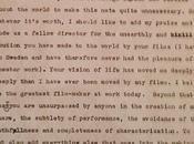 Cartas Cine: Kubrick felicita Bergman*