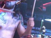 Oskar Montilla baterista Porco Bravo