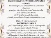 Triduo Rosario Aurora Ntra. Sra. Espartinas (Sevilla).