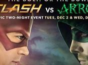 Flash Arrow Destripando crossover