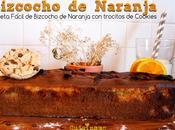 Bizcocho Fácil. Receta Naranja Cookies