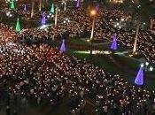 Toda Plaza Mayor Lima lució espléndida Vigilia Inmaculada