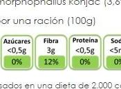 Fideos konjac 'The Konjac Shop'
