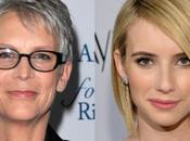Jamie Curtis Emma Roberts fichan 'Scream Queens', nueva serie