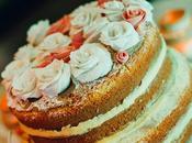 Tortas rústicas están moda. ¡Naked Cake!