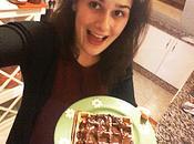 Gofres pepitas chocolate